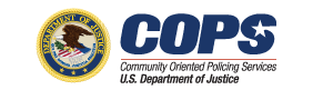 Department of Justice Office of Community Oriented Policing Services logo