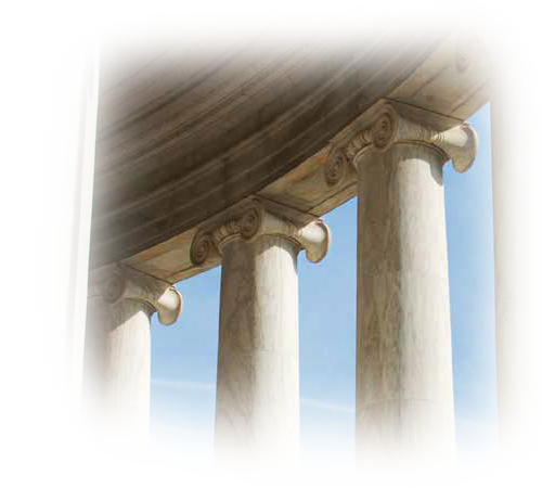 Government Building Columns Background